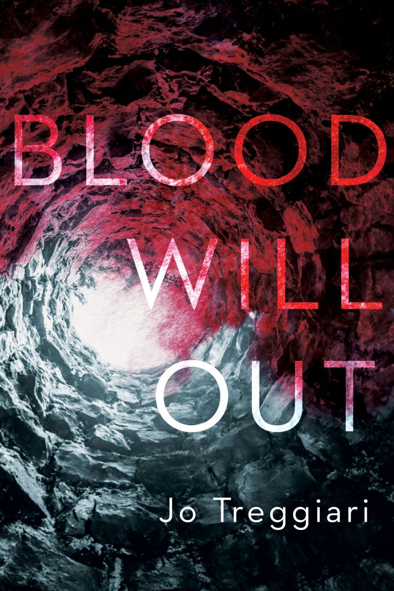 BLOOD WILL OUT PAPERBACK COVER